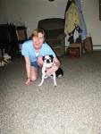 my dog and me