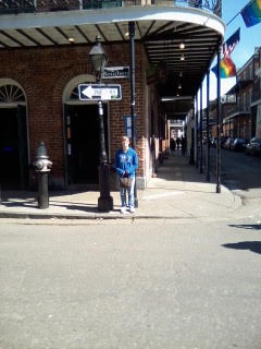 On Bourbon St.