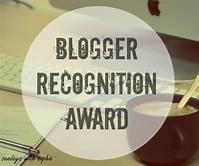Blogger Rec award