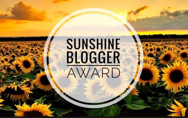 Sunshine Blogger award (2019)